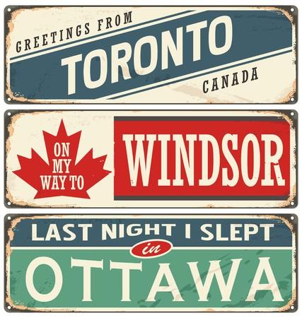 destinations: Canada cities and travel destinations
