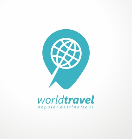 Logo idea for travel agency