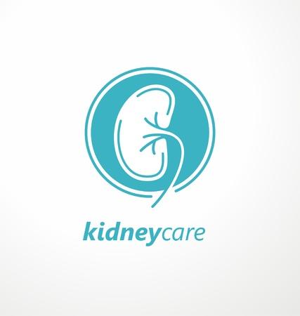 Kidney care medical design idea Stock Vector - 118769444