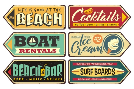 Summer signs collection
