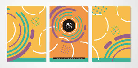 Minimalist notebook cover design templates