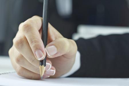 escribiendo: Escrito