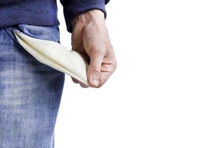 penniless: Be penniless Stock Photo
