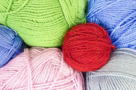 gomitoli di lana: Gomitoli di lana colorati