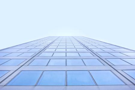 construction project: Blue building