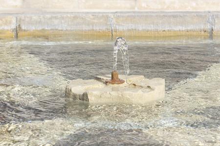 beauty fountain: Stone fountain