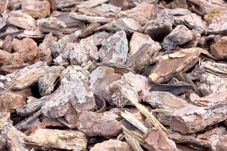 bark mulch: Wooden shavings for garden