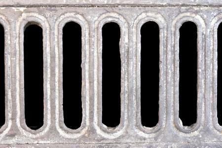 desague: agua de drenaje rectángulo Foto de archivo