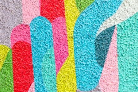 pintada colorida abstracta