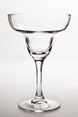 margarita glass: Empty Margarita Glass