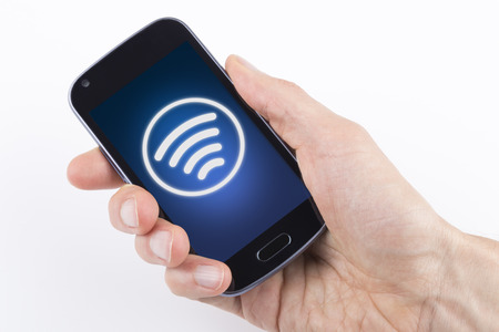 contactless: Contactless payment Stock Photo