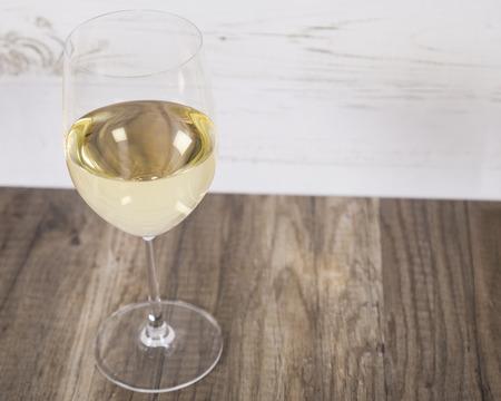 white wine: Glass of White Wine