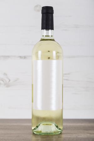 white wine: White Wine Bottle