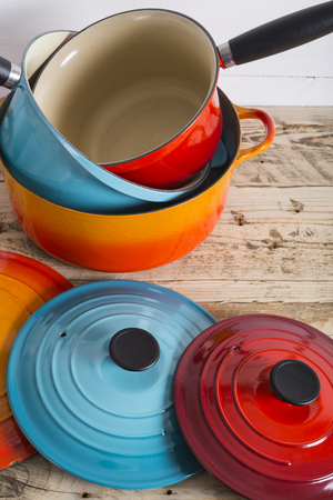 lids: Cooking pots pans and lids