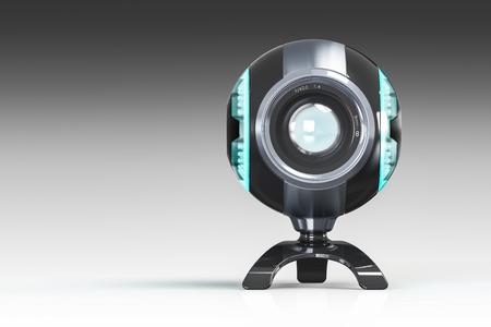3D render of webcam Stock Photo