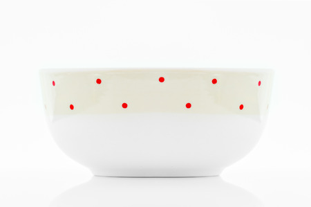 breackfast: a breackfast bowl photographed on a white background Stock Photo