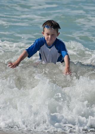 Body surfing 写真素材