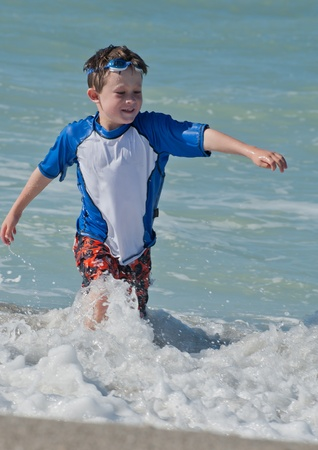 Kicking the waves in the Gulf