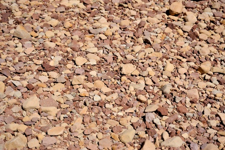 several river rock making an abstract background