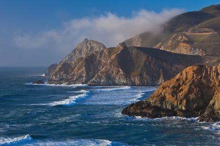 Mist at the Pacific, California Coast