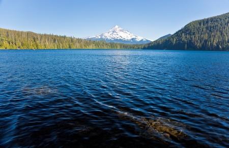 lost lake:  Lost Lake and Mount Hood, Oregon, U.S.A.