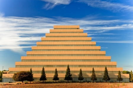 Pyramid office building in West Sacramento, California, U S A  Reklamní fotografie