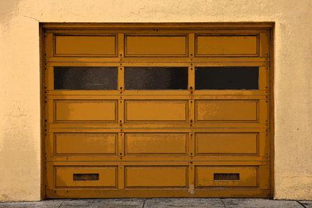 garage: An old Garage Doors