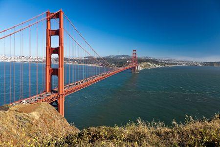 Golden Gate Bridge. View of the Golden Gate Bridge in San Francisco, CA, USA.