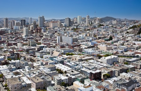 San Francisco: View from Coit Tower. Stock Photo - 7718555