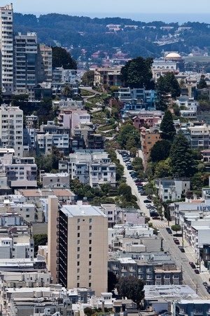 San Francisco: View from Coit Tower. Stock Photo - 7718602