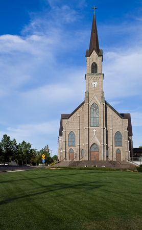 centrepoint tower: St. Mary Parish, Mt. Angel, OR, U.S.A. A Roman Catholic Parish with a Benedictine Tradition since 1881.