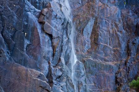 bridalveil fall: Bridalveil Fall. Yosemite National Park, California, U.S.A. Stock Photo