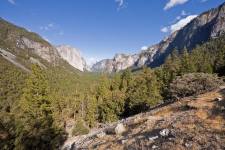 Tunnel View, Yosemite National Park, California, U.S.A. photo