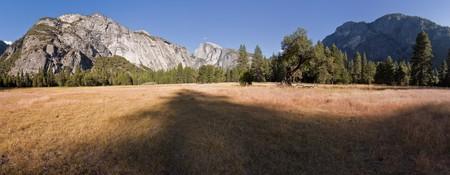 Sentinel Meadow in Yosemite Valley, Yosemite National Park, California, U.S.A. photo