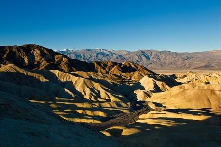 borax: Zabriskie Point, Death Valley, California