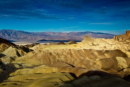Zabriskie Point, Death Valley National Park, California. Stock Photo - 9253981