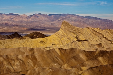 Zabriskie Point, Death Valley National Park, California. Stock Photo - 9253985