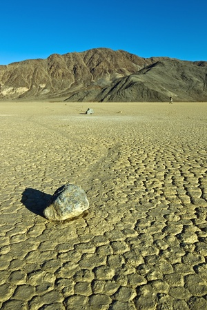 Racetrack Playa, Death Valley National Park, California. The Racetrack Playa, or The Racetrack, is a scenic dry lake feature with
