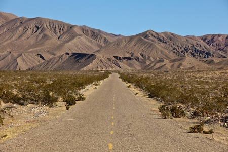 borax: Death Valley National Park, California. Death Valley is a desert valley located in Eastern California.   Stock Photo