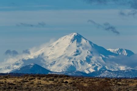 California Landscape:  Mount Shasta in California. Stock Photo - 12608827