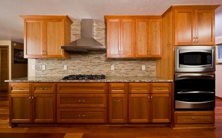 a kitchen: Renovated designer kitchen