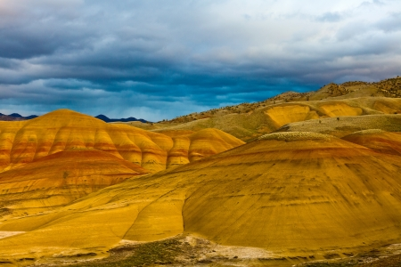 u s: Painted Hills Unit   John Day Fossil Beds National Monument, Northeastern Oregon, U S A  Stock Photo