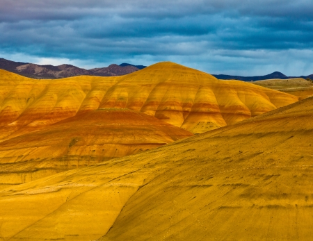 Painted Hills Unit   John Day Fossil Beds National Monument, Northeastern Oregon, U S A  Stock fotó