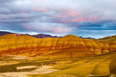 northeastern: Painted Hills Unit   John Day Fossil Beds National Monument, Northeastern Oregon, U S A  Stock Photo