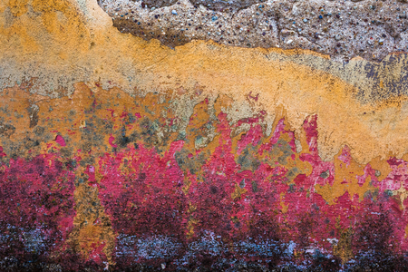 Colorful background pattern of old wall Stock fotó