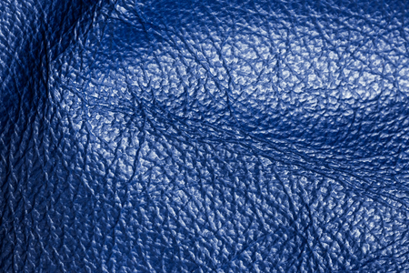 Dark blue Leather for Concept and Idea Style of Fine Leather Crafting, Handcrafts Work Space, Handmade Leather handcrafted, leather worker. Background Textured and Wallpaper. Stockfoto