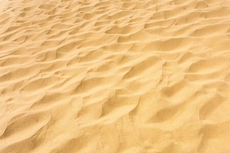 Background image of desert sand in the dunes Stock Photo