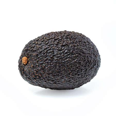 Avocado isolated on white background. Avocado close up