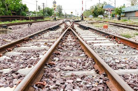 crossroad: cruce ferroviario