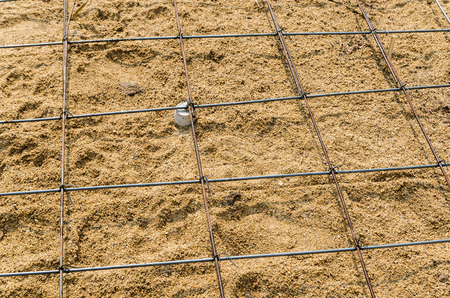 reinforcing bar: Rebar on site construction